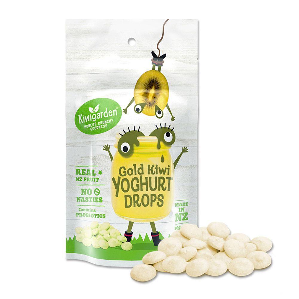 紐西蘭Kiwigarden - 益菌優格豆 黃金奇異果-20g/袋