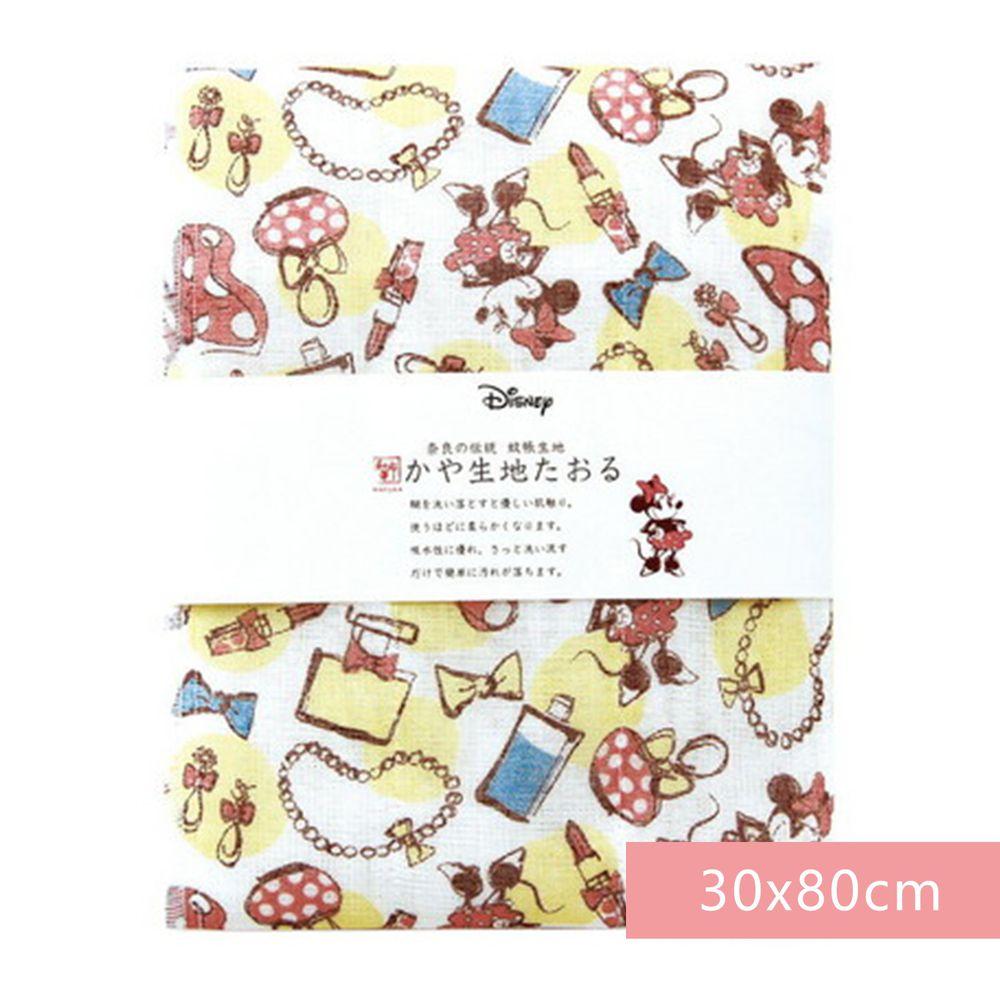 日本代購 - 【和布華】日本製奈良五重紗 長毛巾-米妮化妝品 (30x80cm)