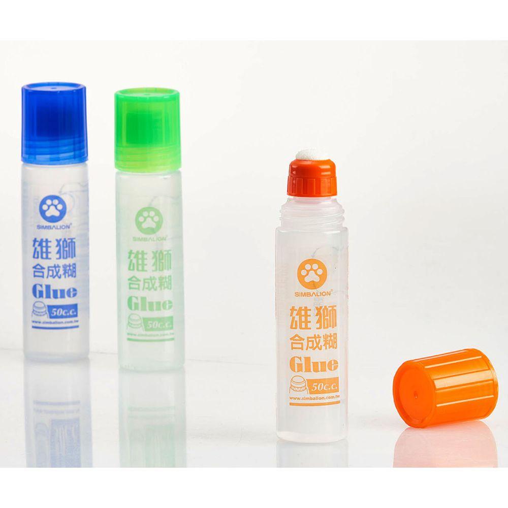 雄獅 SIMBALION - 雄獅膠水-50cc/罐