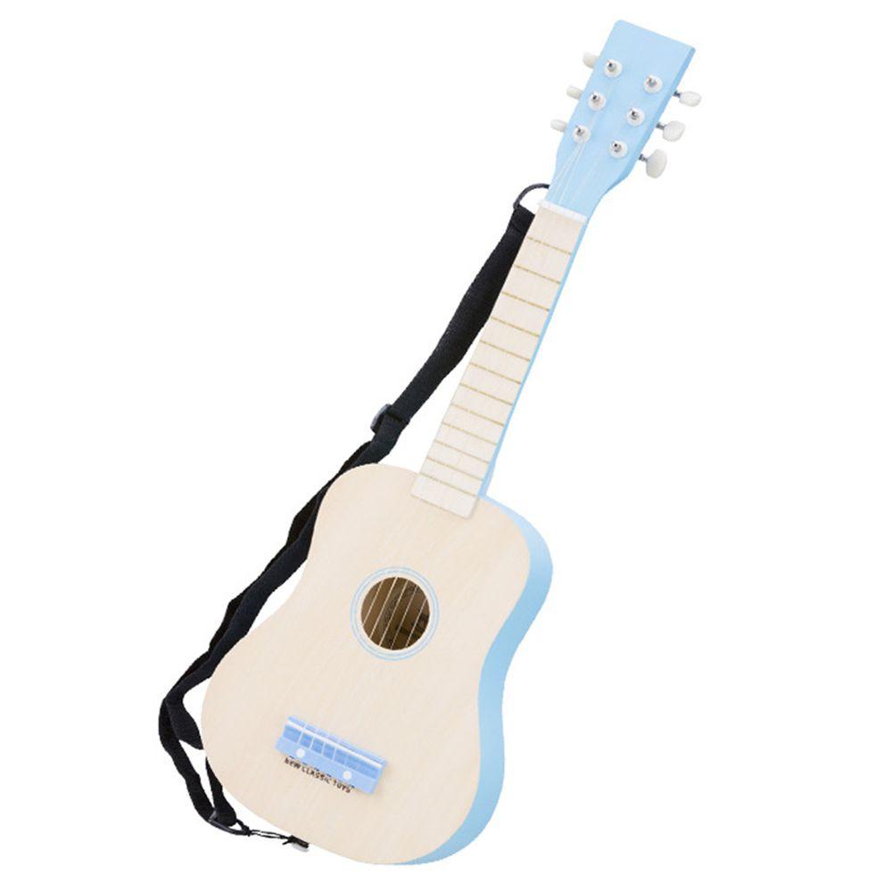 荷蘭 New Classic Toys - 幼兒音樂吉他-陽光藍