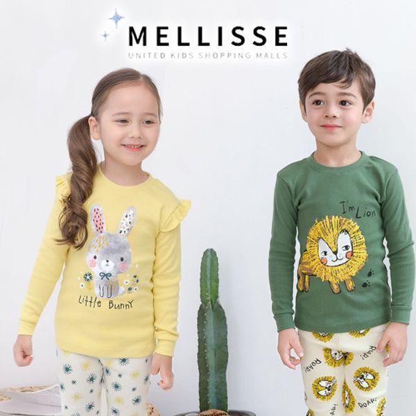 韓國製造 Mellisse 純棉長袖家居服 $380↗