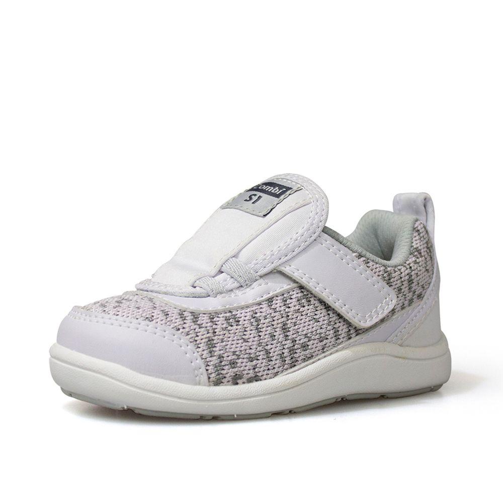 日本 Combi - 機能童鞋/學步鞋-NICEWALK 醫學級成長機能鞋-灰-A02