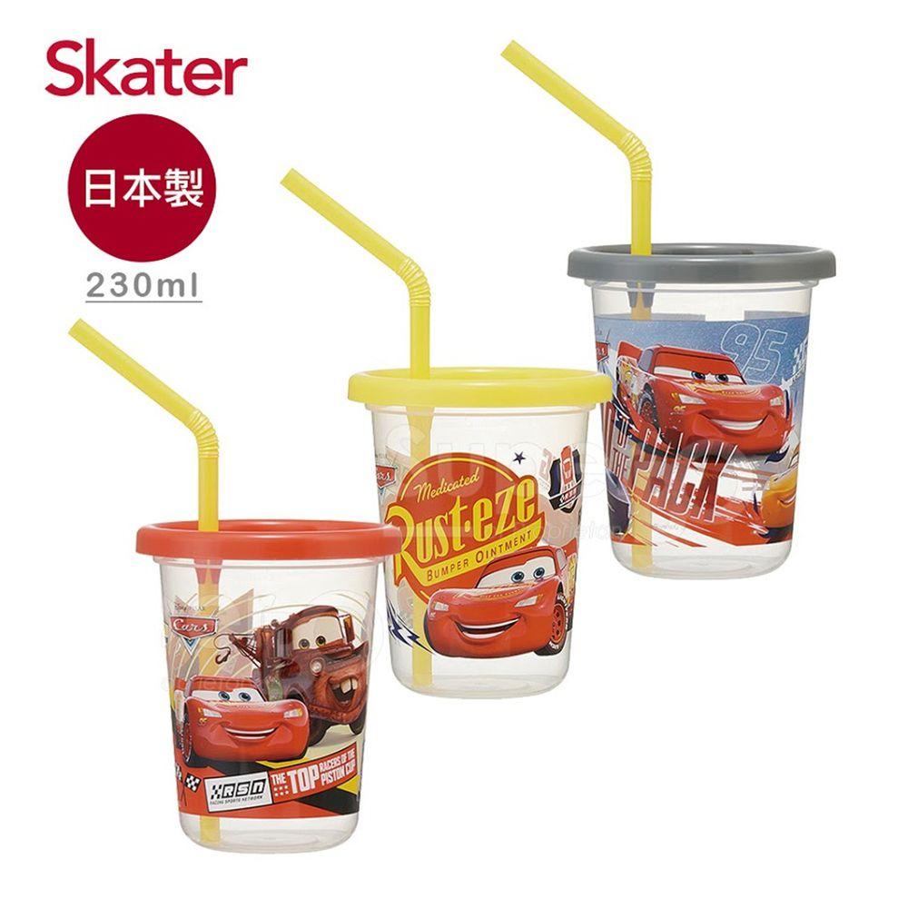 日本 SKATER - 派對杯3入組(230ml)-閃電麥昆