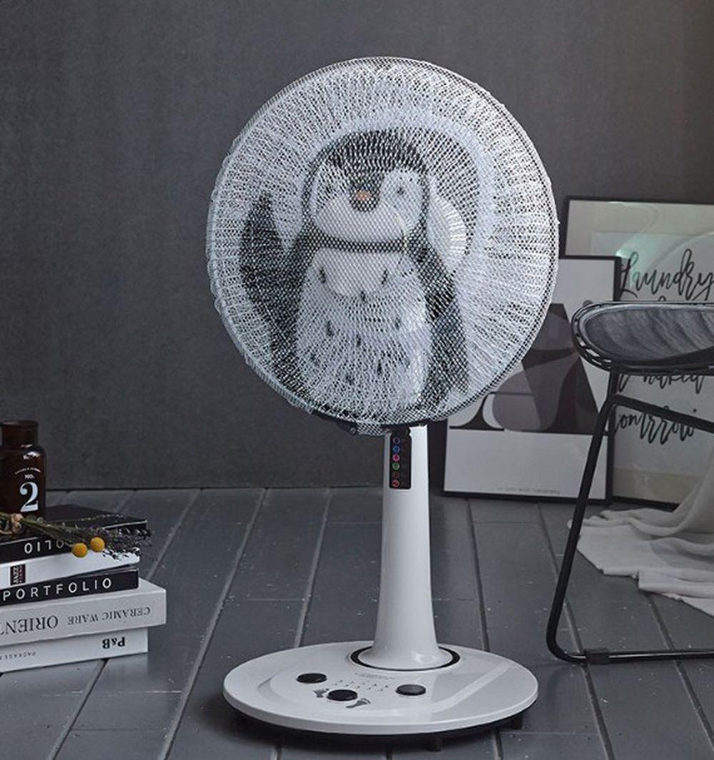 韓國 Bebe Deco - 電風扇安全網套-哈囉企鵝