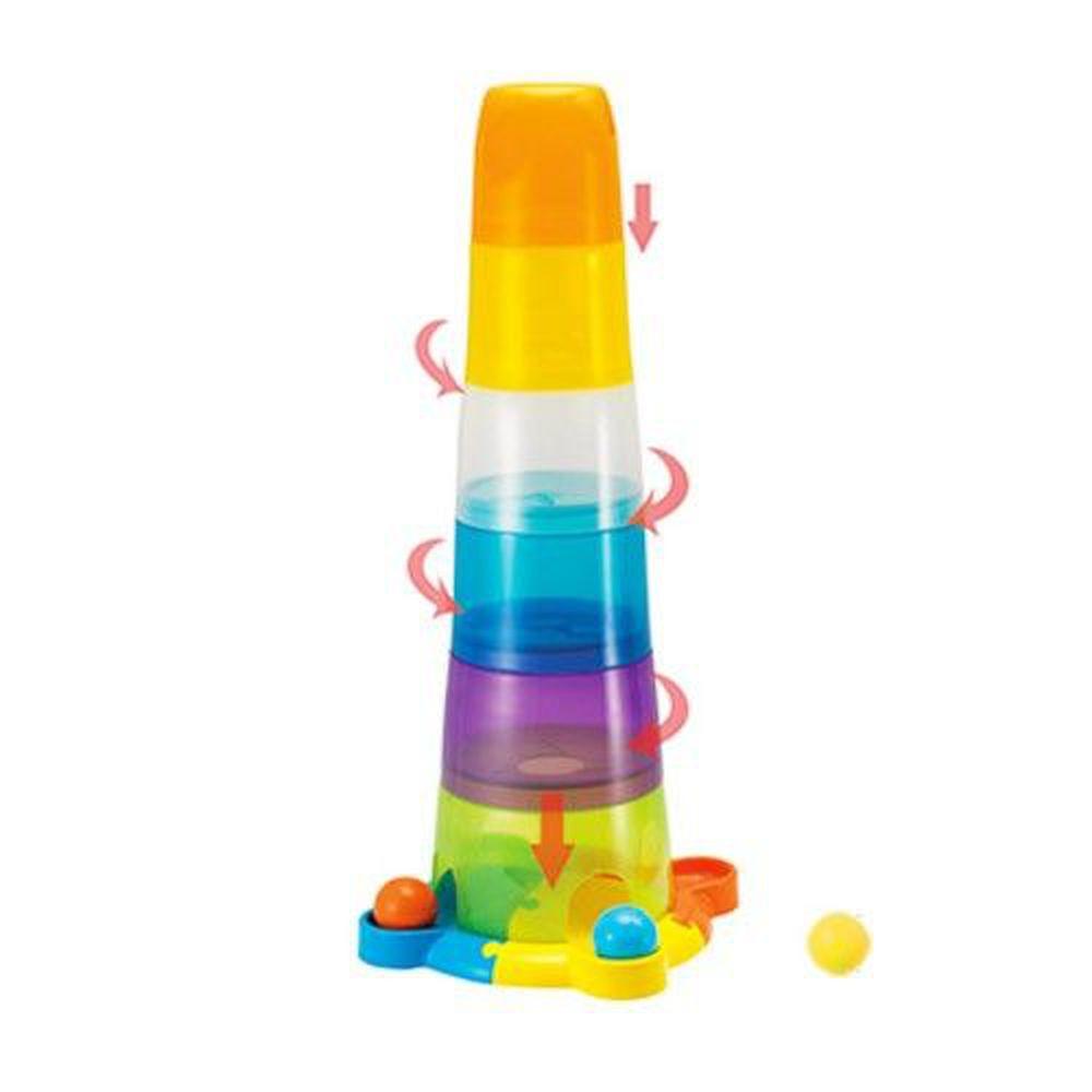 winfun - 彩色滾球疊塔