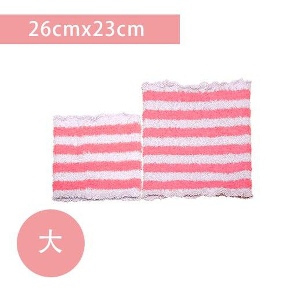 YODA - 輕柔透氣伸縮肚圍-粉紅莓-大(26cm*23cm)
