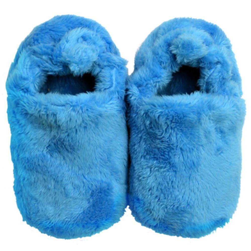 英國 Poconido - 寶寶絨絨鞋/學步鞋-天空藍