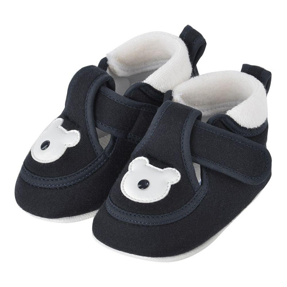 akachan honpo - 學步鞋-熊-深藍色