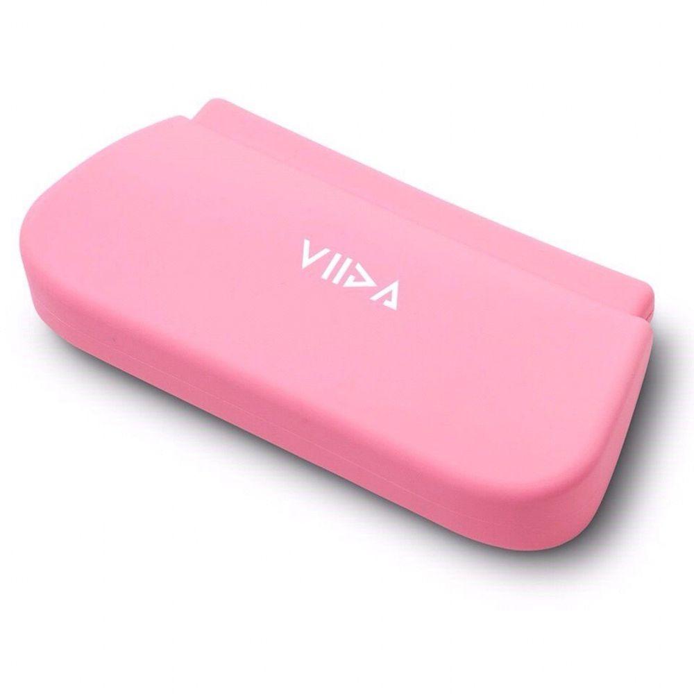 VIIDA - Chubby防水收納袋(L)-甜心粉 (18x9.3cm)-專案