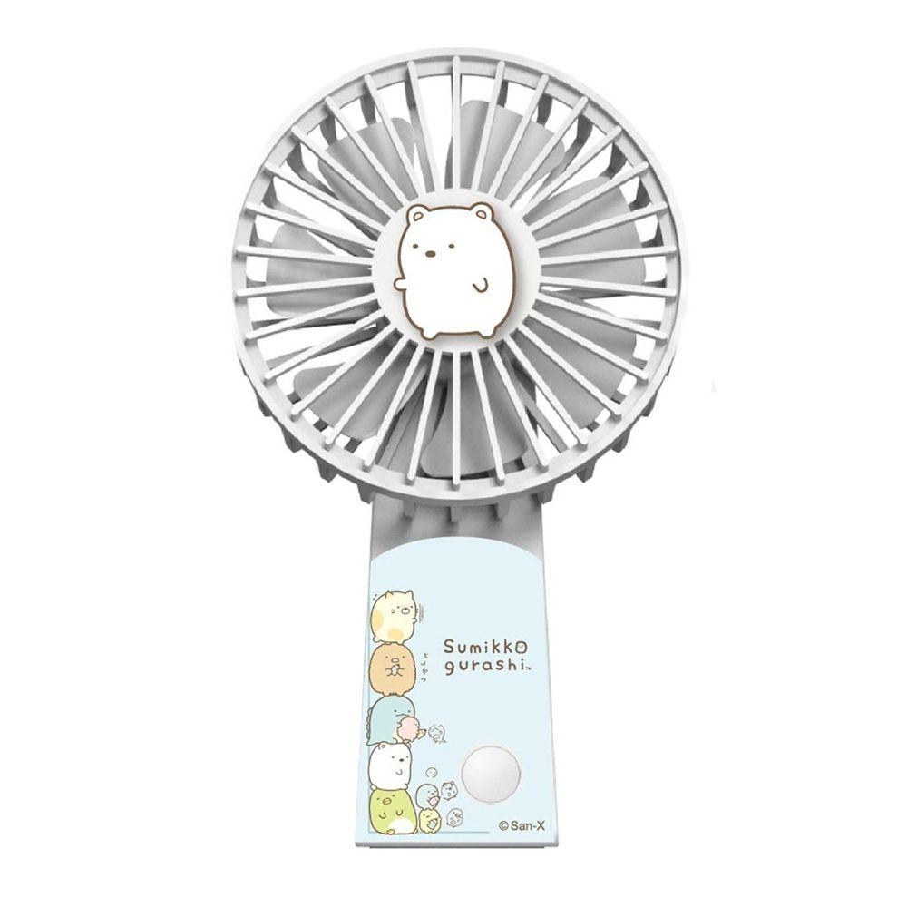 AIRMATE 艾美特 - USB垂直翻轉充電風扇-角落小夥伴款-白熊白