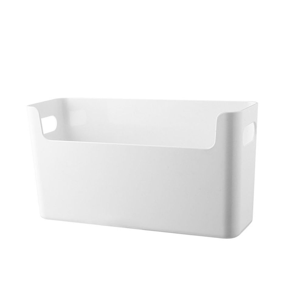 側凹型大容量收納盒-窄版 (25.5x8.4x13.5cm)