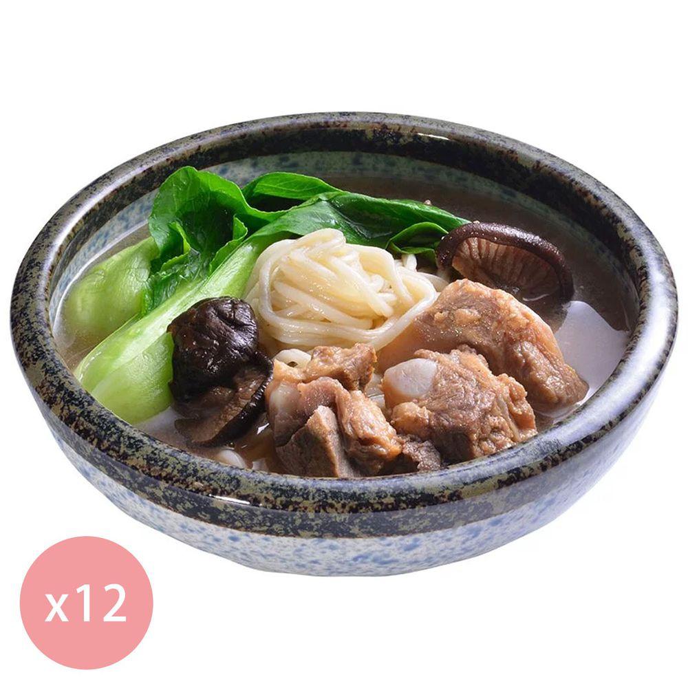 【國宴主廚温國智】 - 冷凍肉骨茶麵700g x12包