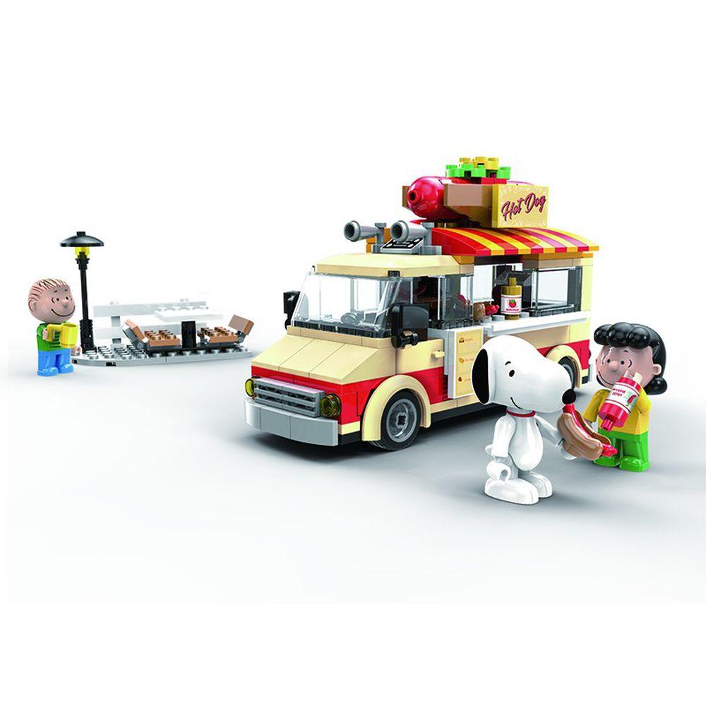 Linoos - 史努比歡樂廣場系列-美式餐車-289片