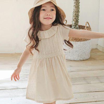 氣質小公主洋裝 5[90-95cm]-奶油白