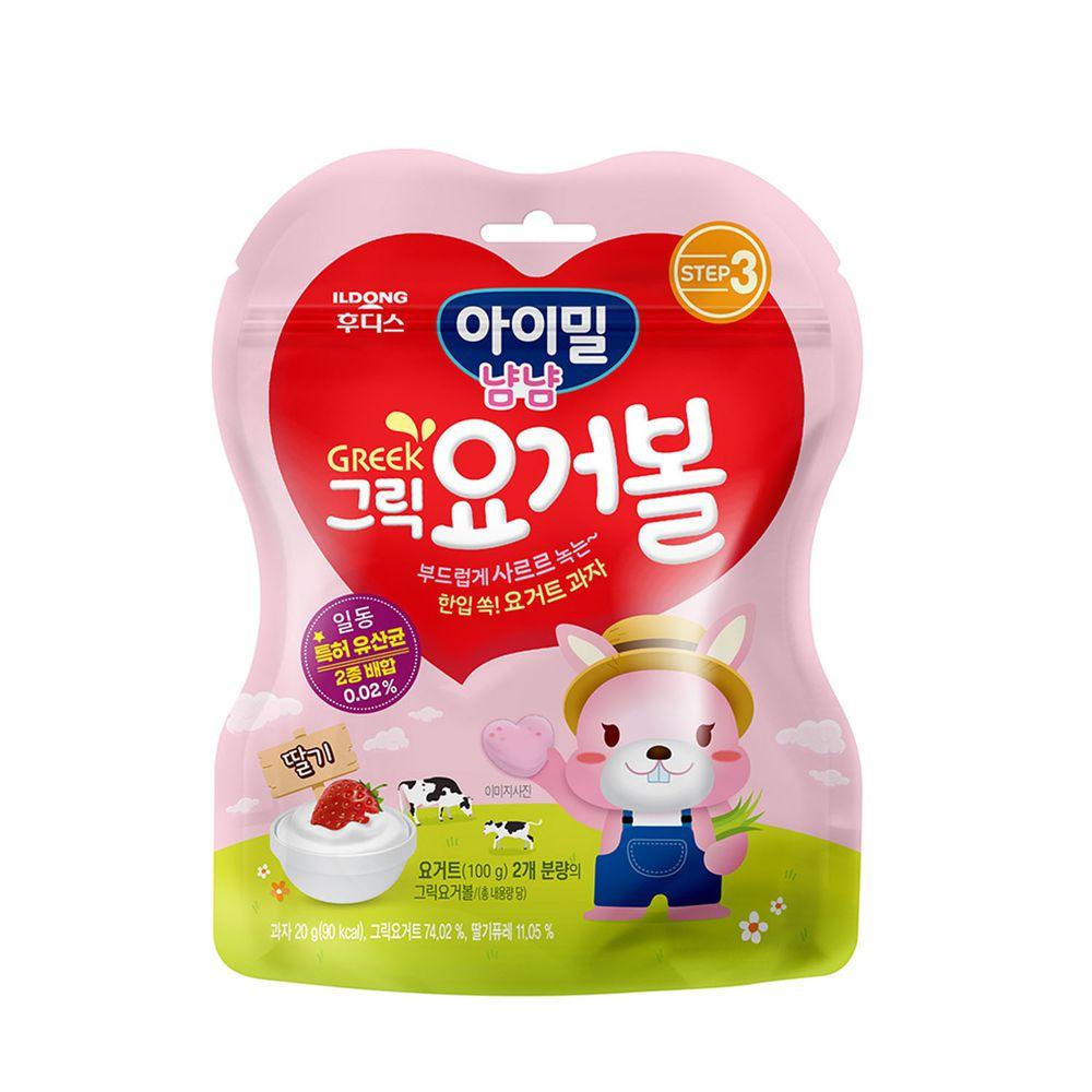 韓國Ildong Foodis日東 - 優格愛心餅-草莓