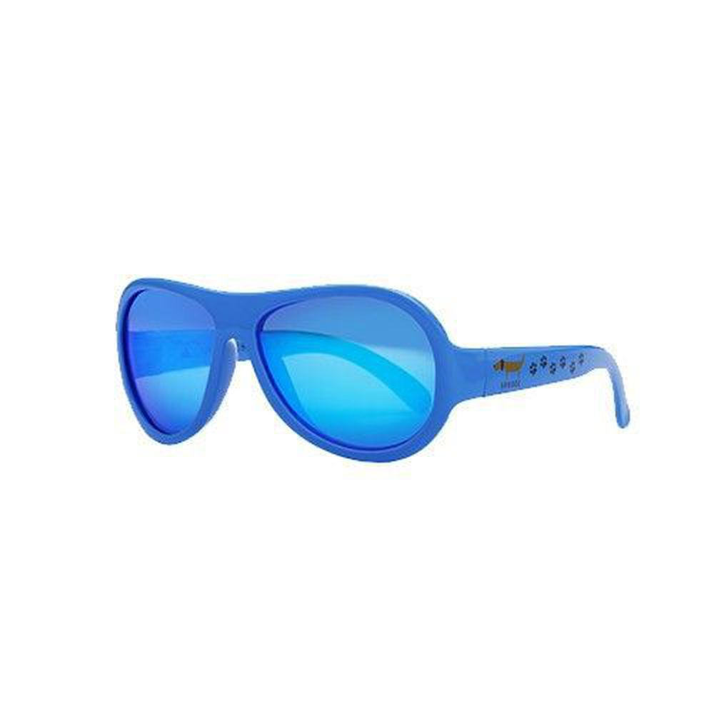 SHADEZ - 可彎折嬰幼兒時尚太陽眼鏡-藍色臘腸 (0Y~3Y)
