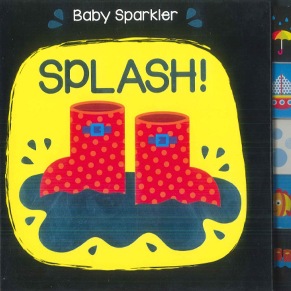 Baby Sparkler SPLASH 硬頁書