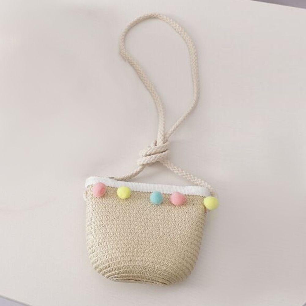 糖果球小包-米色