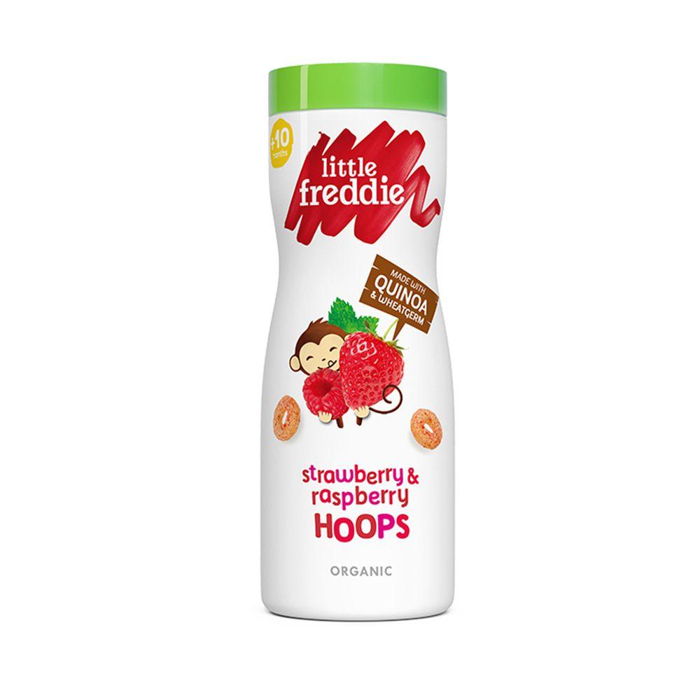 little freddie - 小皮有機莓果圈圈餅-10個月食用