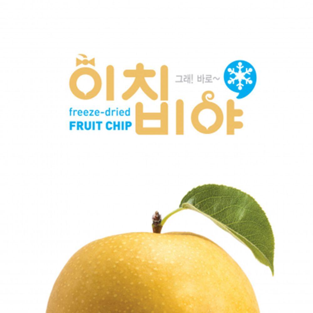 Ichibiya - 韓國幼兒水果乾-梨子-20g