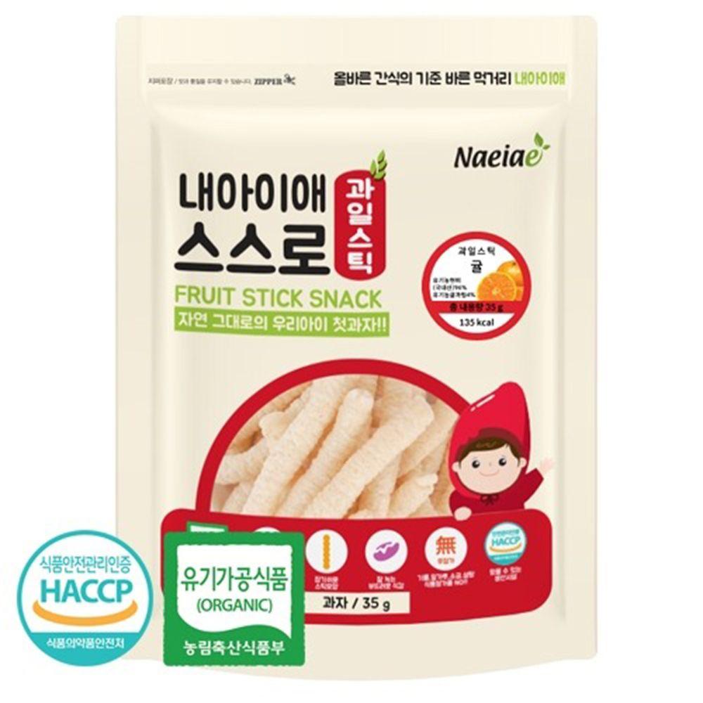 Naeiae - Naeiae韓國米棒-柑橘-35g