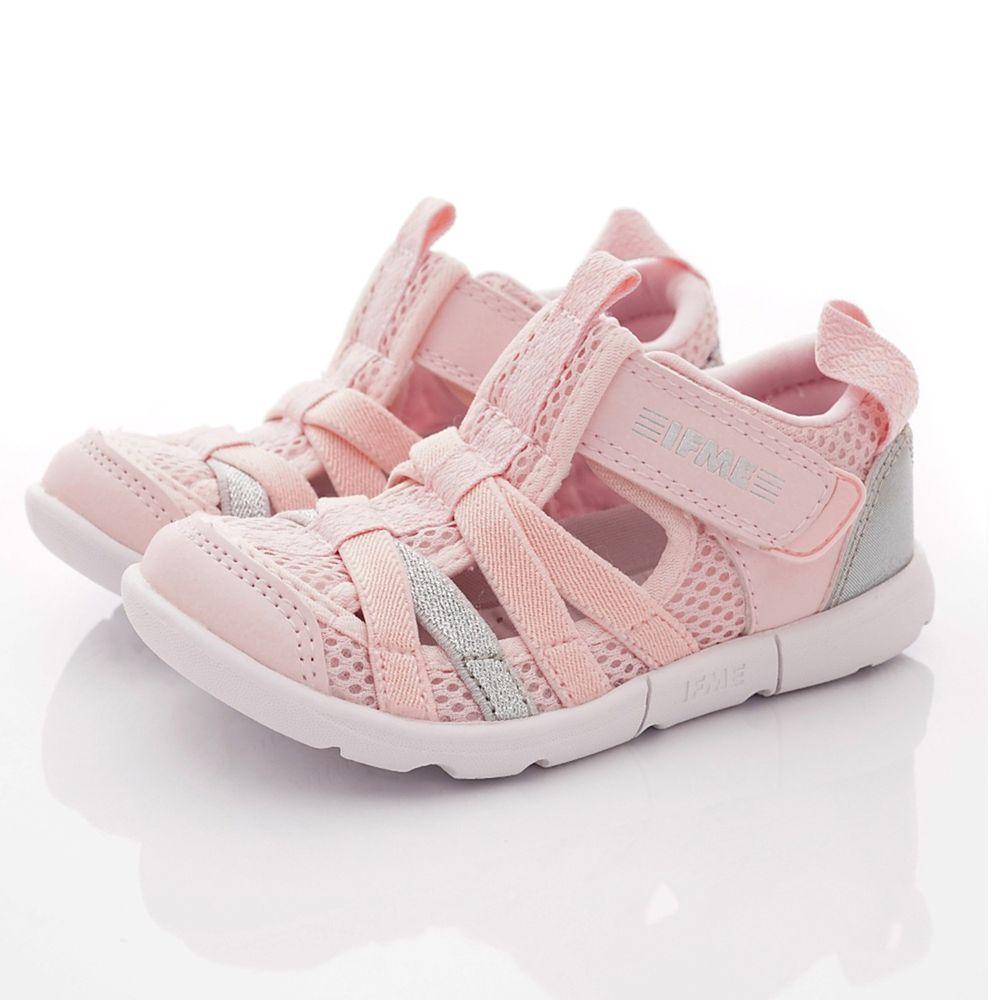 IFME - 護趾水涼機能童鞋-小童段-淺粉