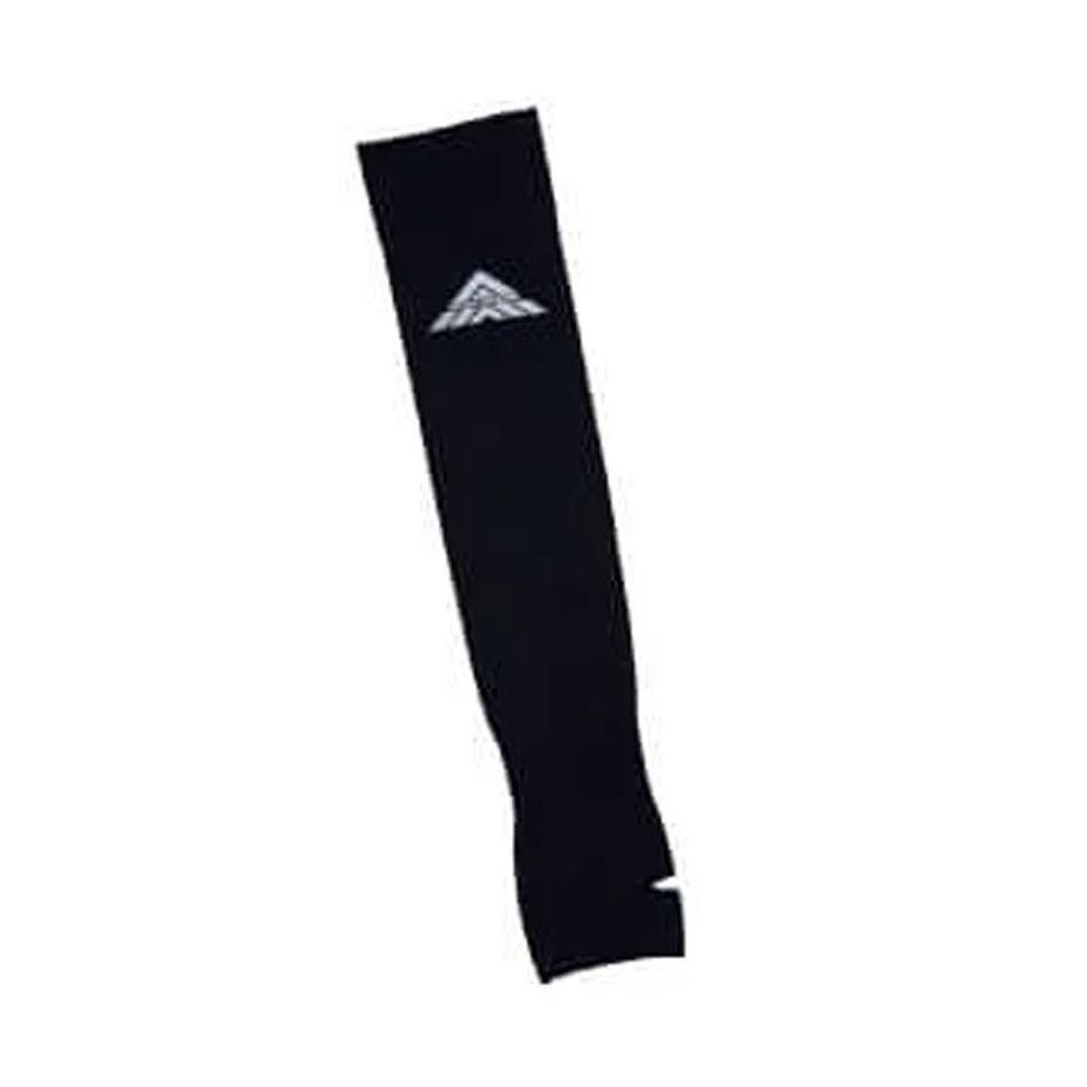 貝柔 Peilou - 高效涼感防蚊抗UV袖套(加大)-素面反光款-黑色