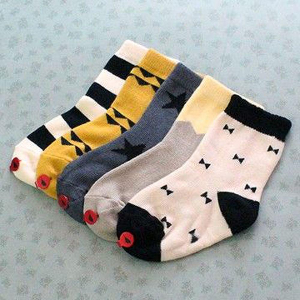 韓國 Kokacharm - 韓國製踝襪-五件組-Minimi