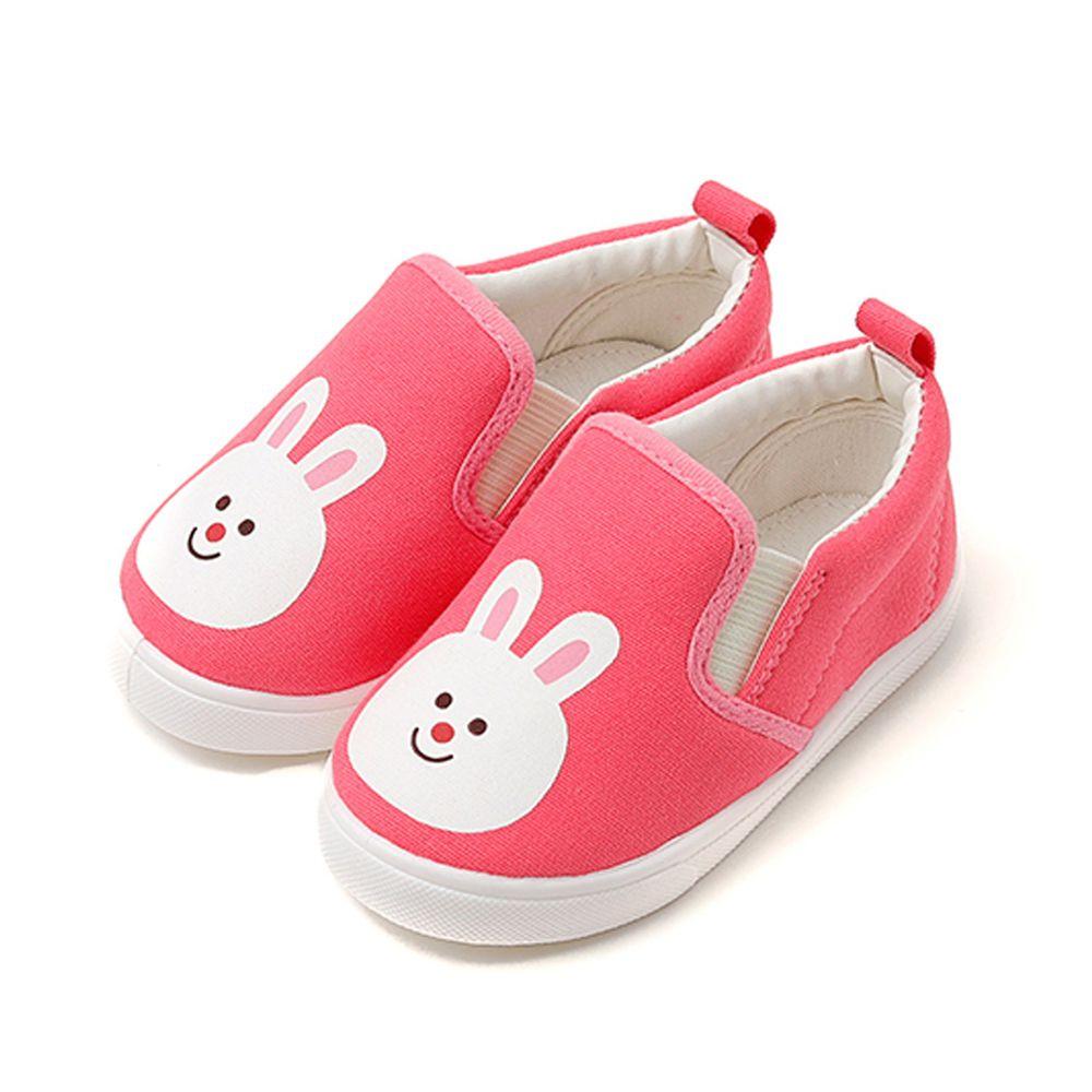 韓國 OZKIZ - 可愛動物兒童休閒鞋/室內鞋-兔子