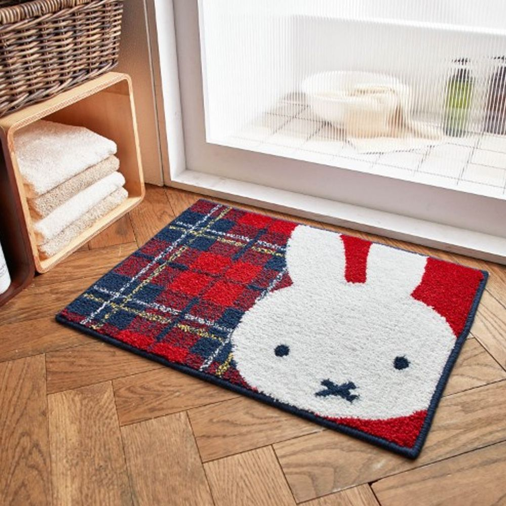 日本千趣會 - 米飛兔 吸水腳踏墊(止滑加工) (45x60cm)