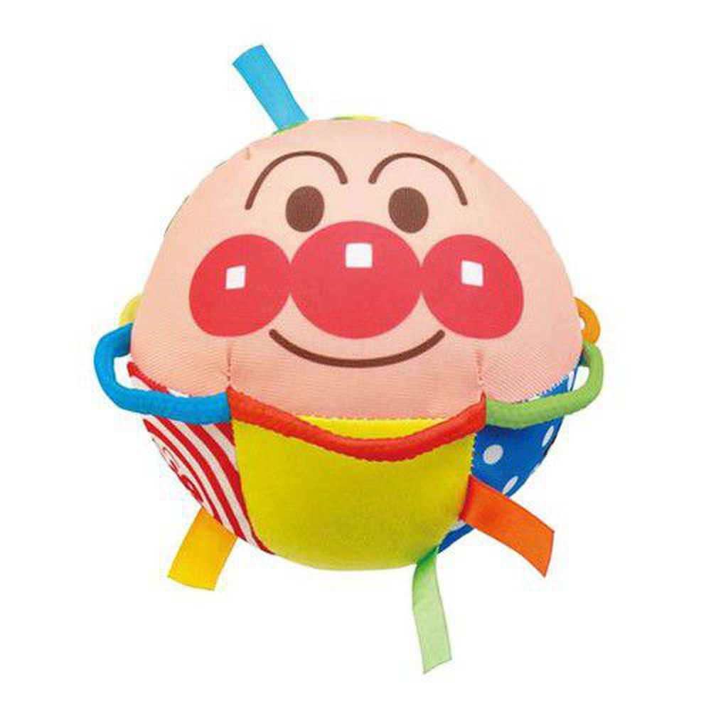 麵包超人 - 能抓能滾嬰兒布偶球-6個月