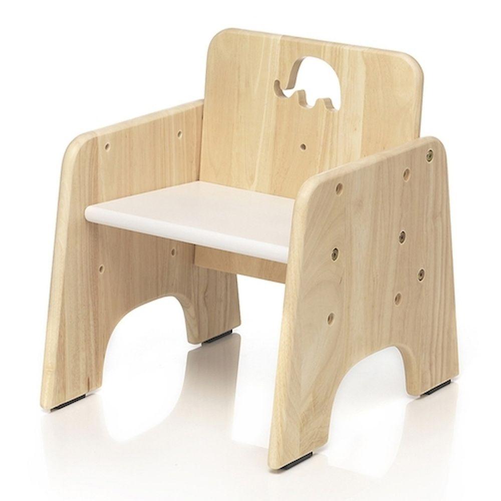 愛兒館 ilovekids - [第二代新版]我的第一張小椅子-小象 (33x39x40cm)