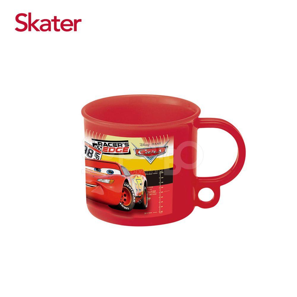日本 SKATER - 吊掛式漱口杯-閃電麥昆(紅)