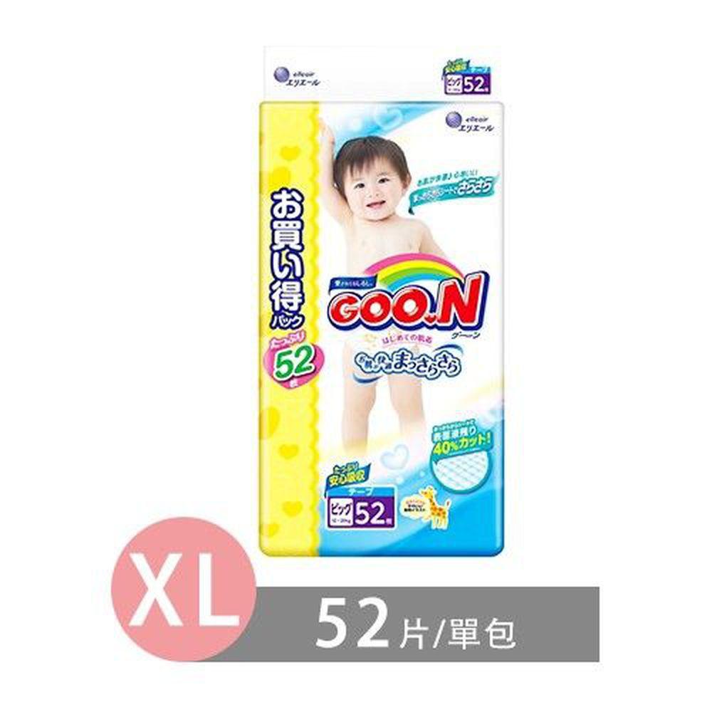 GOO.N - 日本境內大王長頸鹿版尿布-黏貼型 (XL [12-20 kg])-52片/包