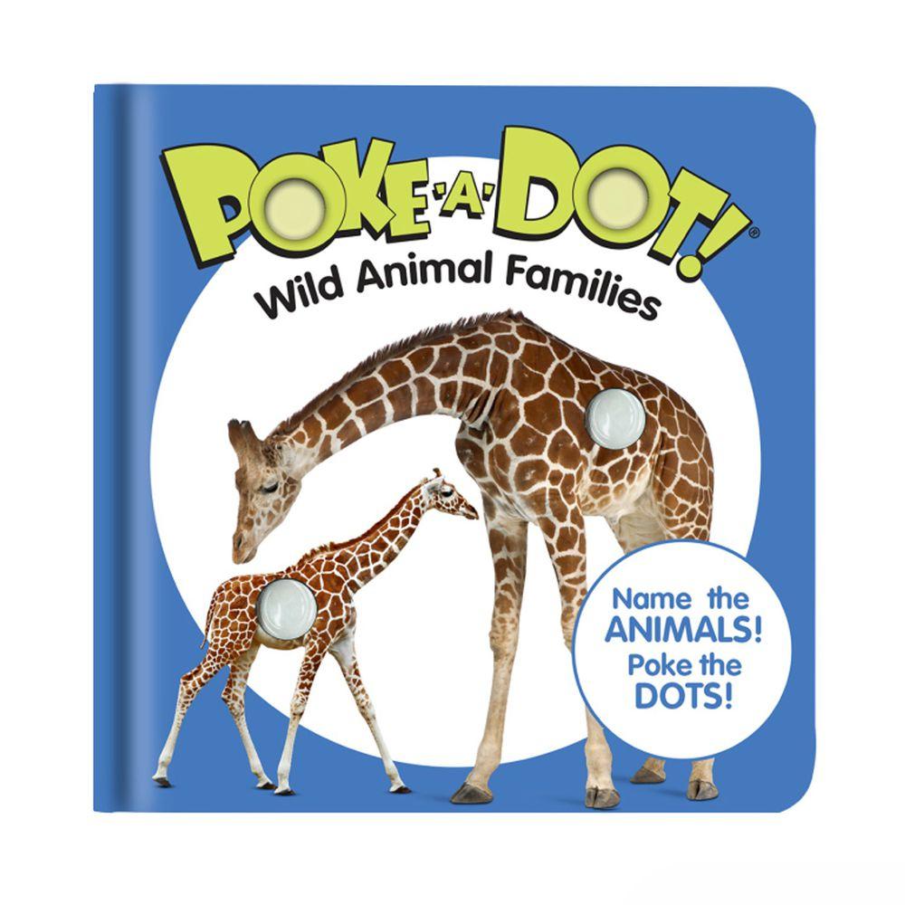 美國瑪莉莎 Melissa & Doug - 神奇泡泡隨身書-認識野生動物