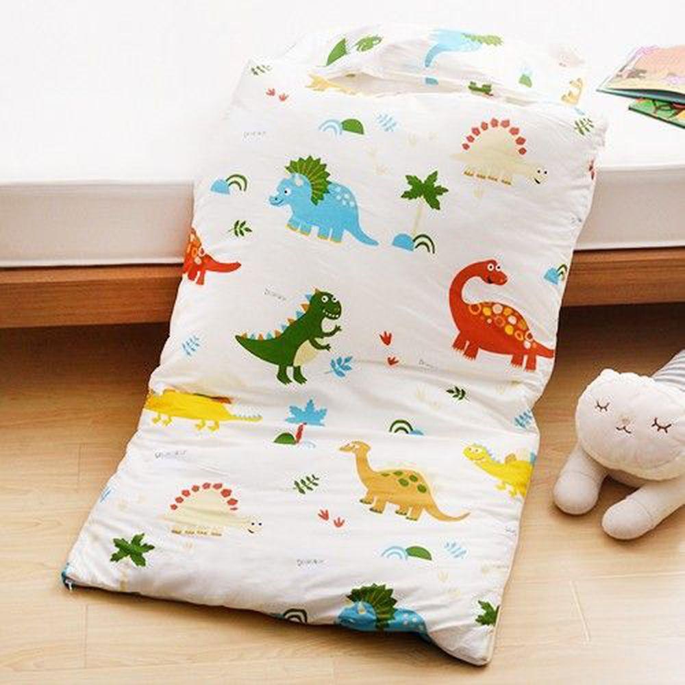 日本濱川佐櫻 - MIT純棉冬夏兩用兒童睡袋-淘氣恐龍