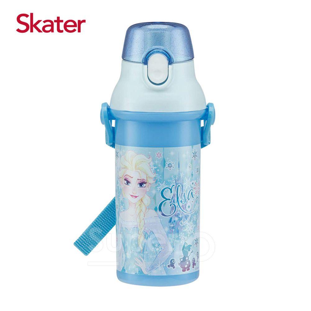 日本 SKATER - 直飲冷水壺 (480ml)兒童水壺-ELSA