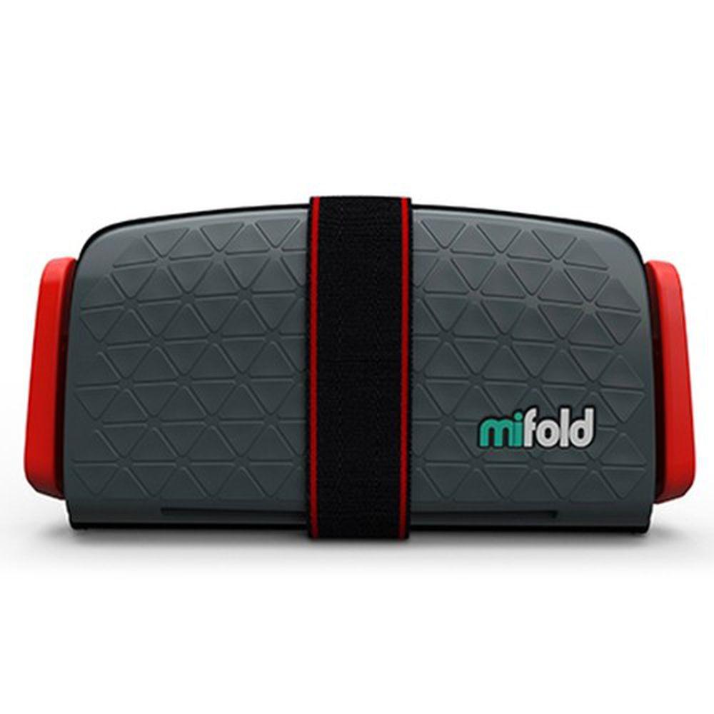 美國 mifold - 隨身安全座椅-新款-深灰色/Grey