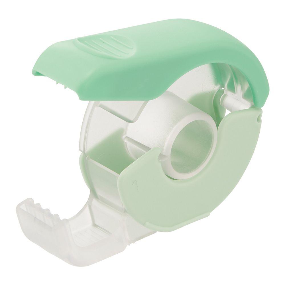 日本文具 LIHIT - 按壓式紙膠帶切割器-薄荷綠