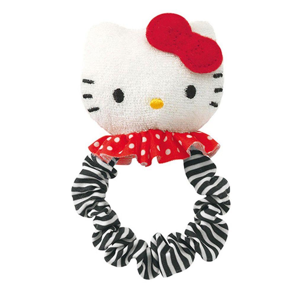 日本 Combi - Hello Kitty布物固齒手搖鈴-0個月起