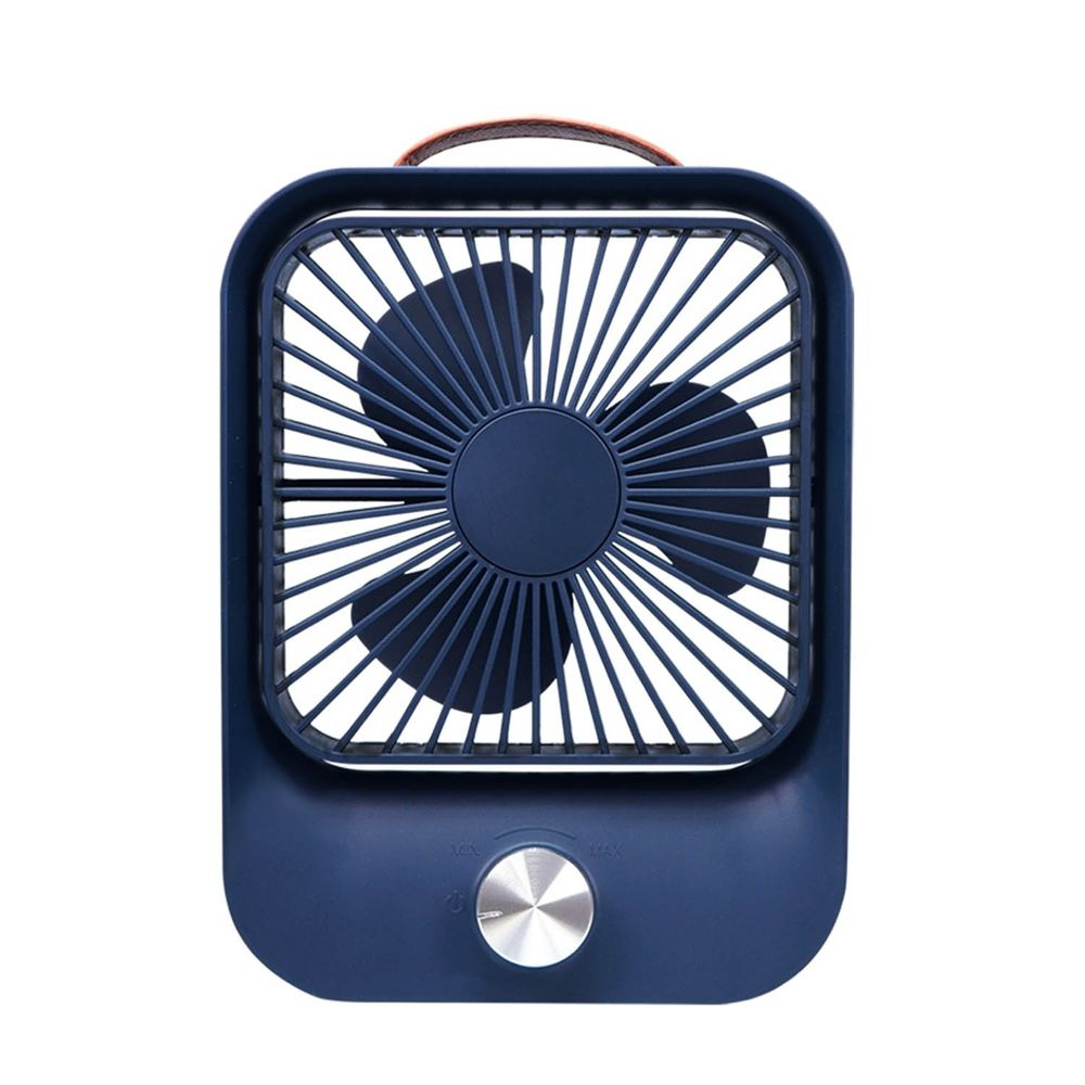 KINYO - 靜音復古桌扇 (UF-6745)-寧靜藍 (W157xH208xD50mm)