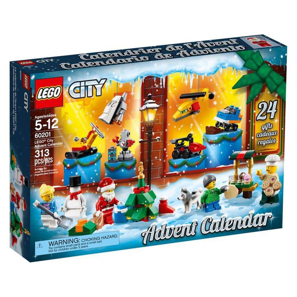 日本 - 戳戳樂倒數月曆-LEGO聖誕城市 (313pcs)