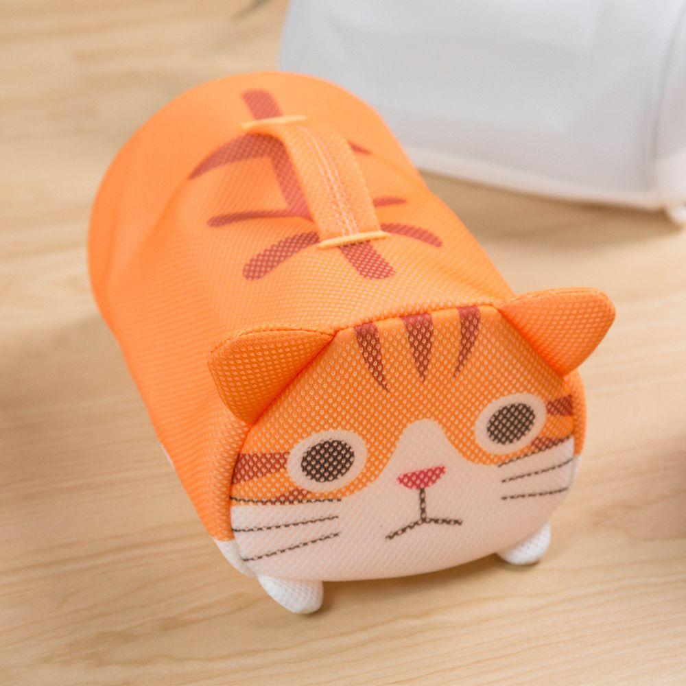 日本 SOWA 創和 - 可愛動物洗衣袋-虎貓 (W26*H14*D16CM)