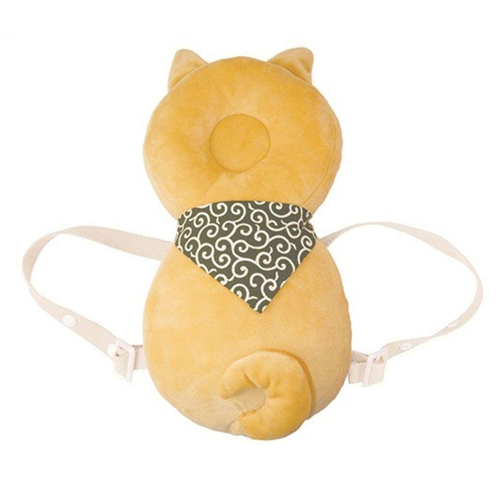 akachan honpo - 嬰兒防護枕背包-狗-橘色- HIRO COMMERCIAL COMPANY