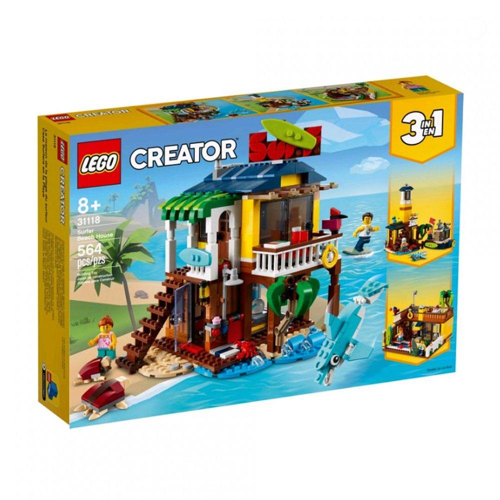 樂高 LEGO - 樂高積木 LEGO《 LT31118 》創意大師 Creator 系列 - 衝浪手海灘小屋-564pcs
