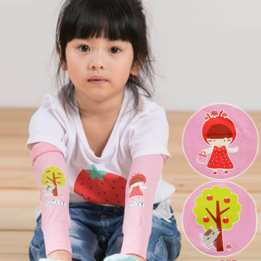 貝柔 Peilou - 兒童高效涼感防蚊抗UV袖套-新小紅帽