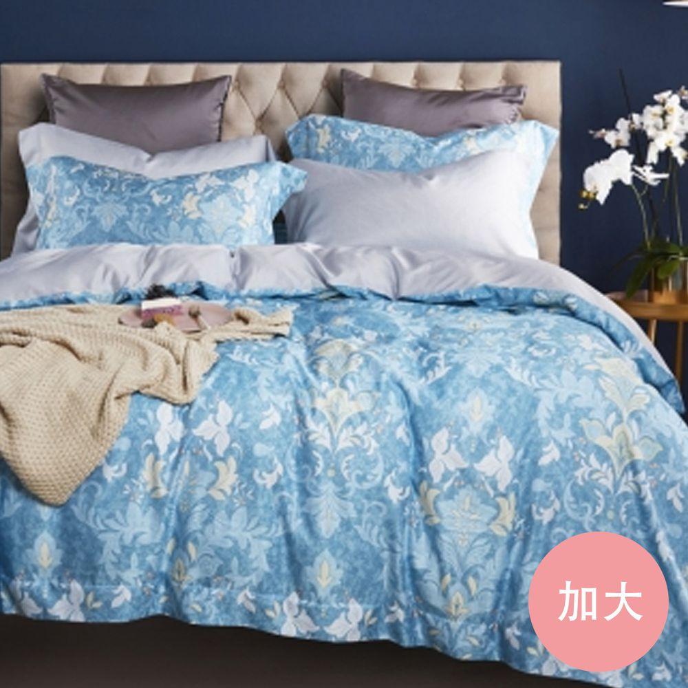 PureOne - 吸濕排汗天絲-皇后品格-加大床包枕套組(含床包*1+枕套*2)