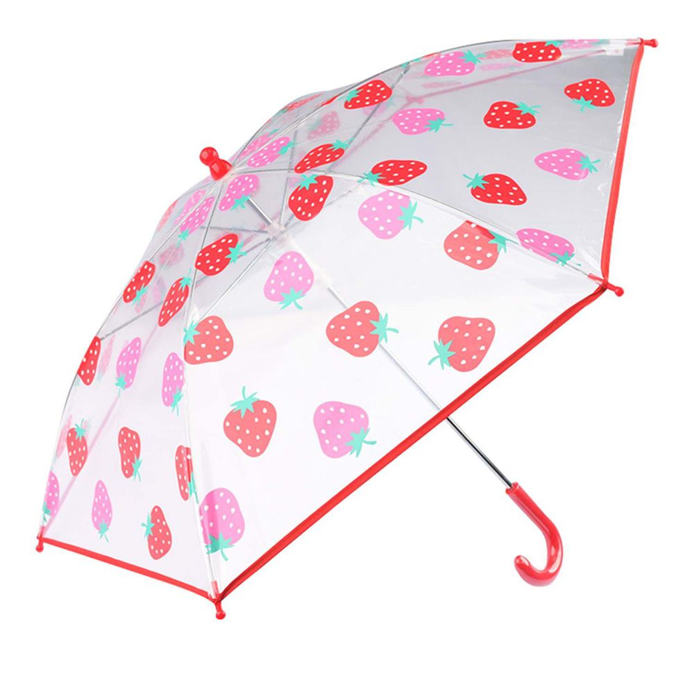 akachan honpo - 透明傘-草莓-紅色 (40cm)
