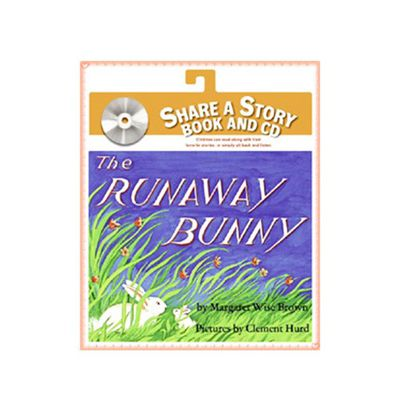 有聲書-RUNAWAY BUNNY/書+CD
