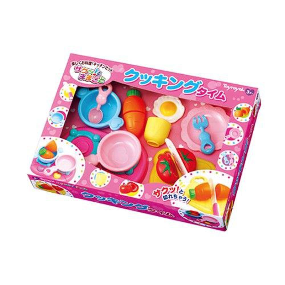 日本 Toyroyal 樂雅 - 切切樂組合-創意料理